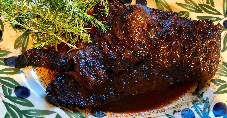 michael symon's grilled skirt steak
