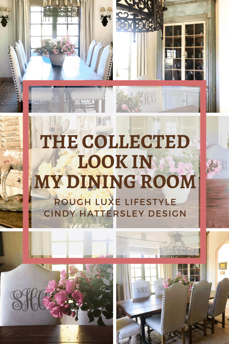 THE COLLECTED LOOK IN MY DINING ROON