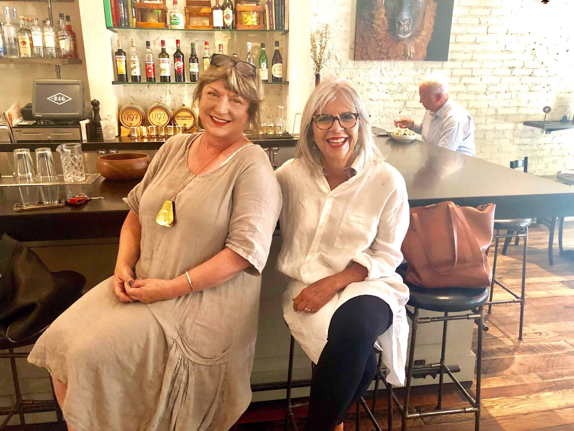 debra phillips and cindy hattersley at two four six decatur