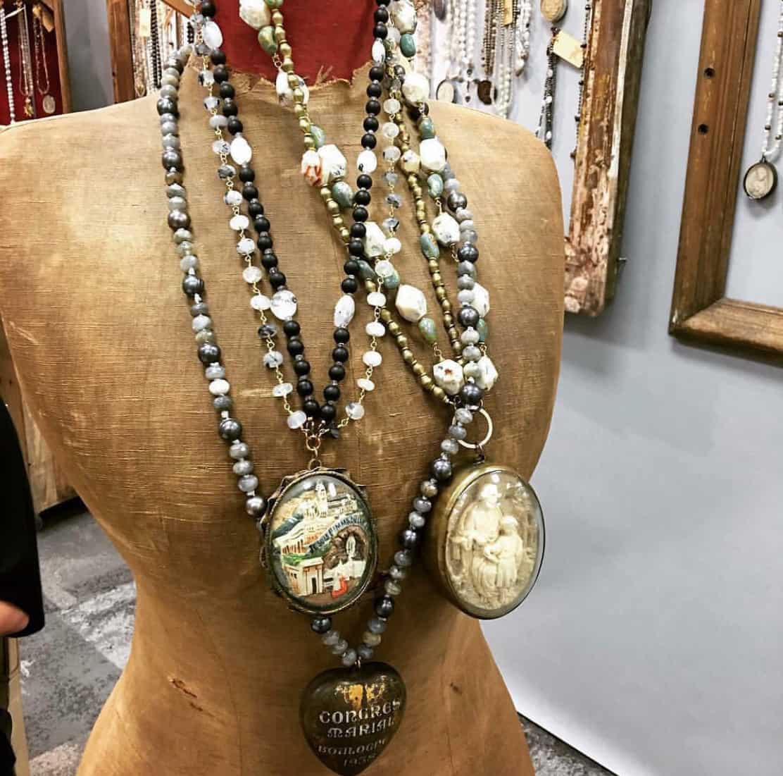 upcycled jewelry Parham and Company
