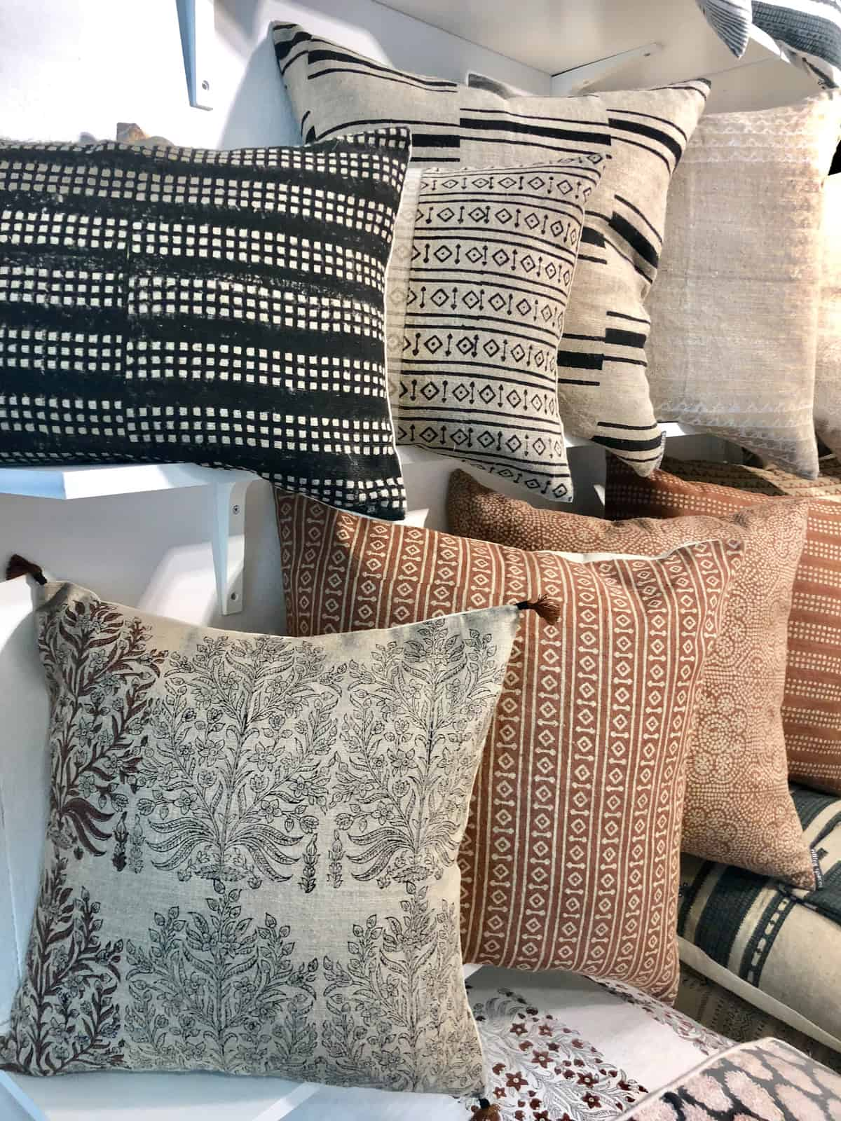 pillows and accessories from Filling Spaces