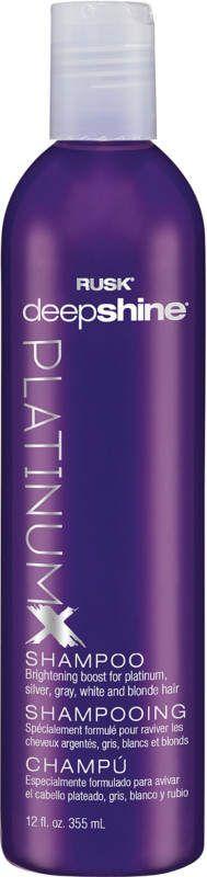 rusk platinum x shampoo