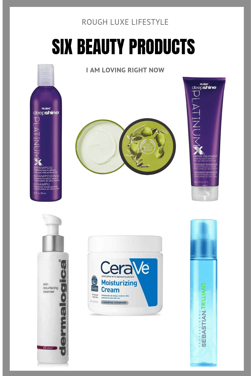 six beauty products