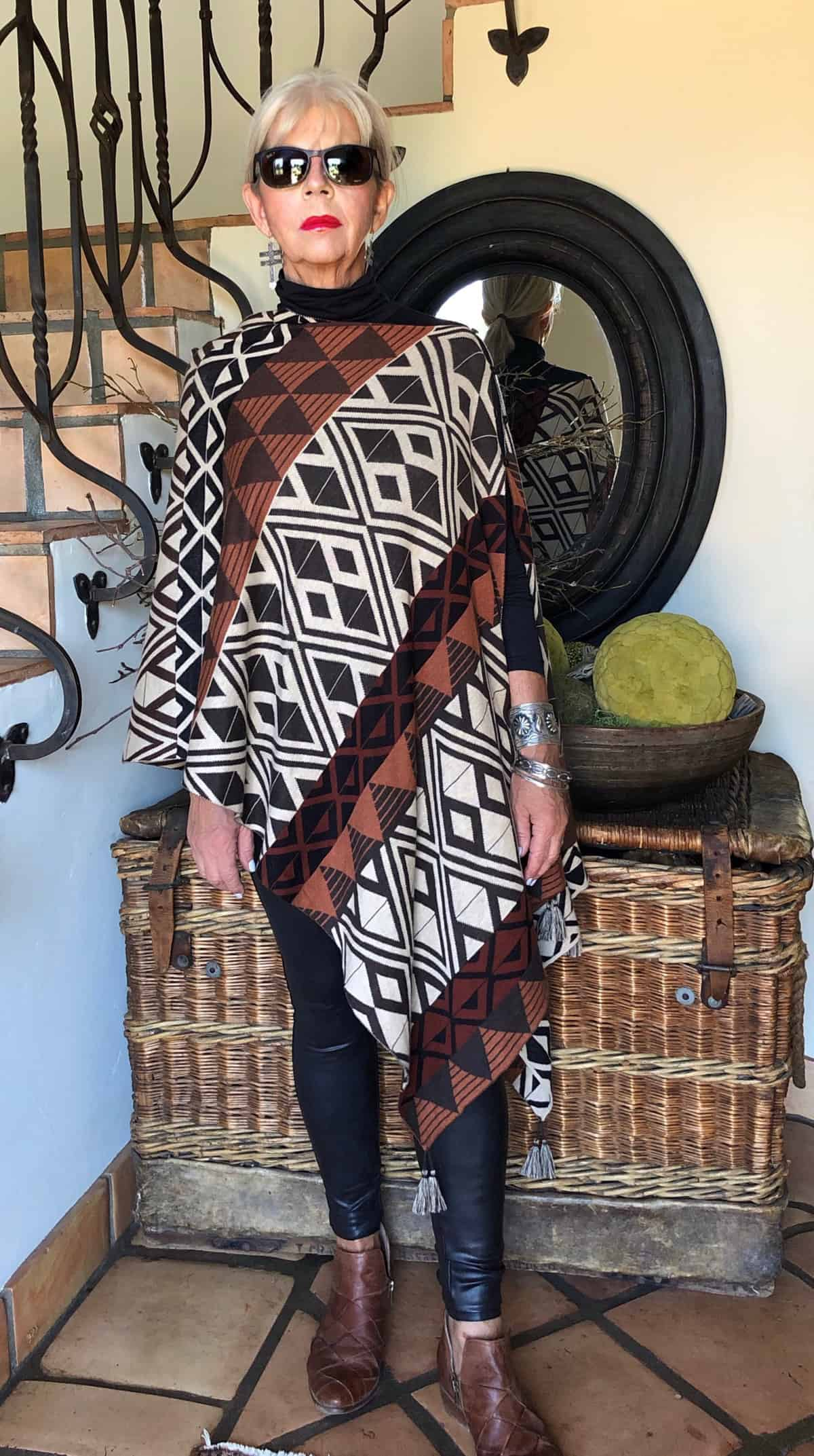 cindy hattersley in peruvian connection poncho