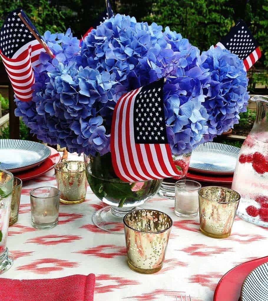 Patriotic Tablescapes you can Copy
