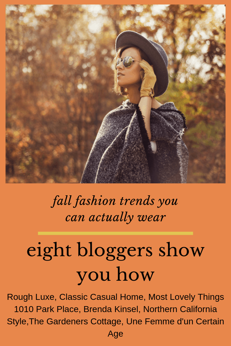 fall fashion trends that we can actually wear
