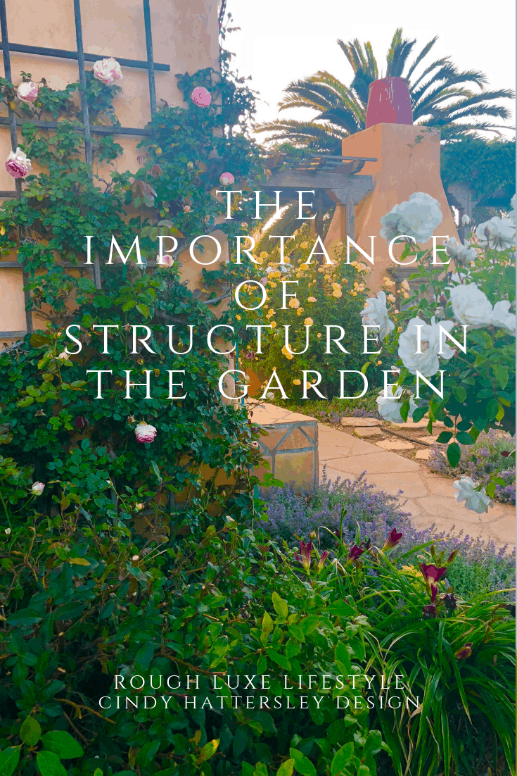 the importance of structure in the garden