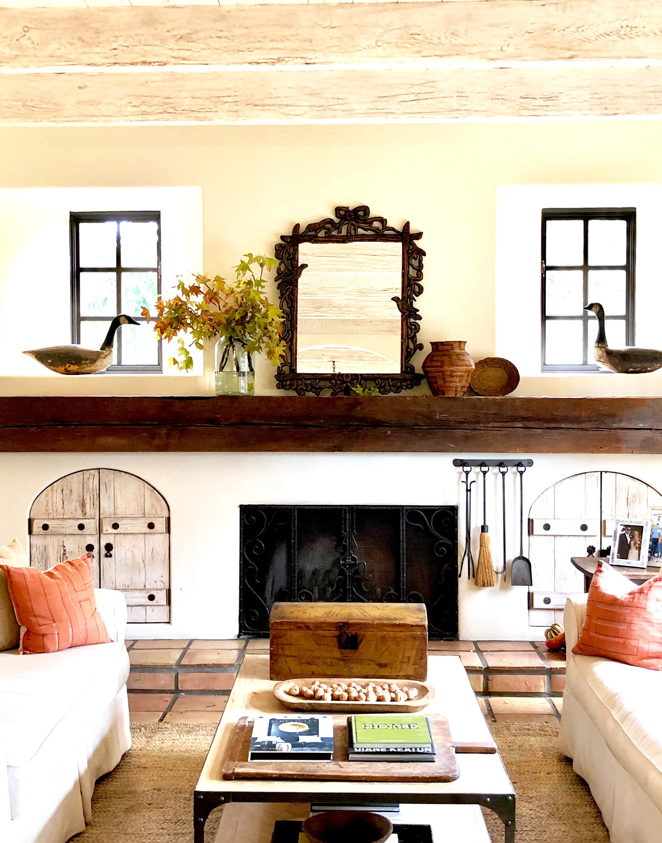 fall mantle four ways