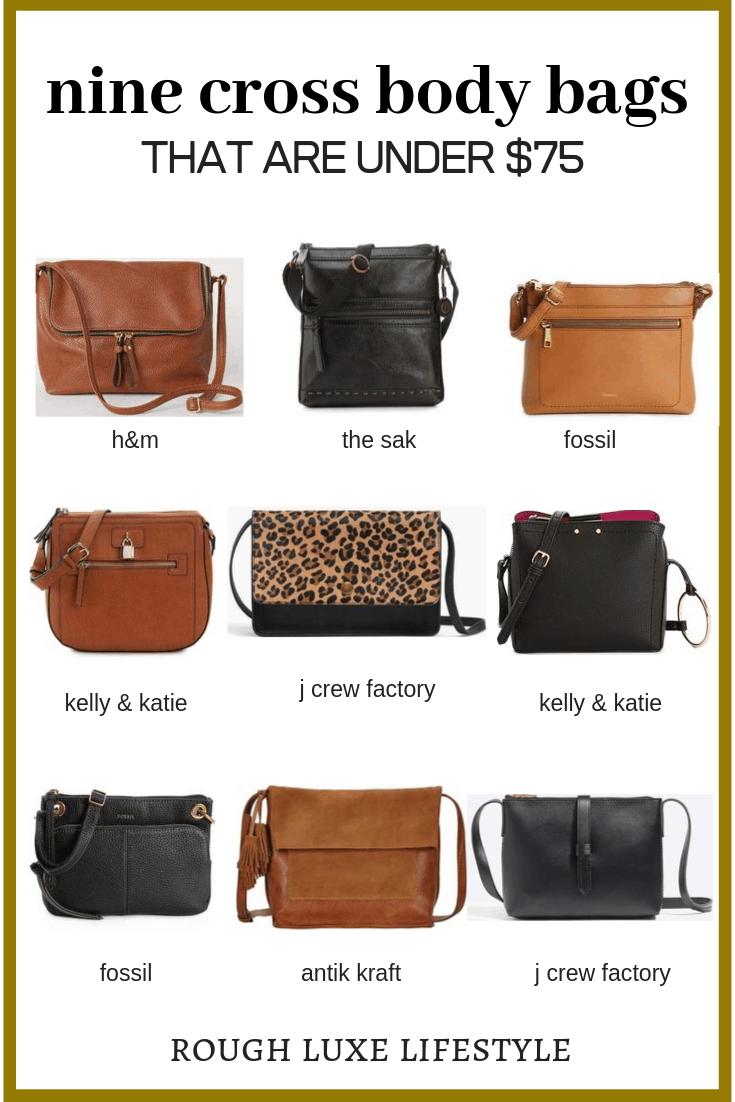 Crossbody purse.