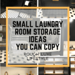 Clever Storage Ideas for a Small Stylish Laundry Room