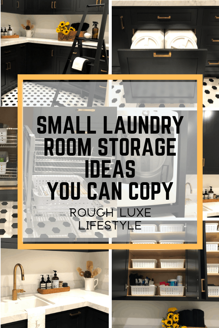 small laundry room storage ideas you can copy