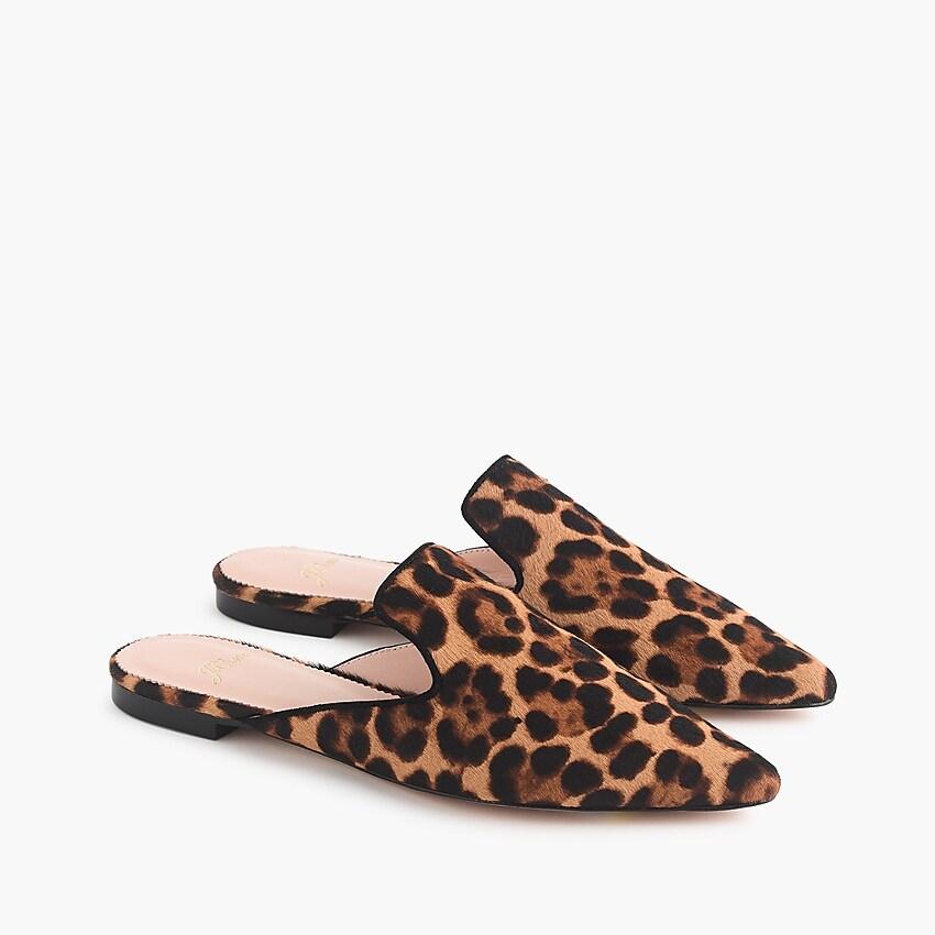 leopard mules j crew