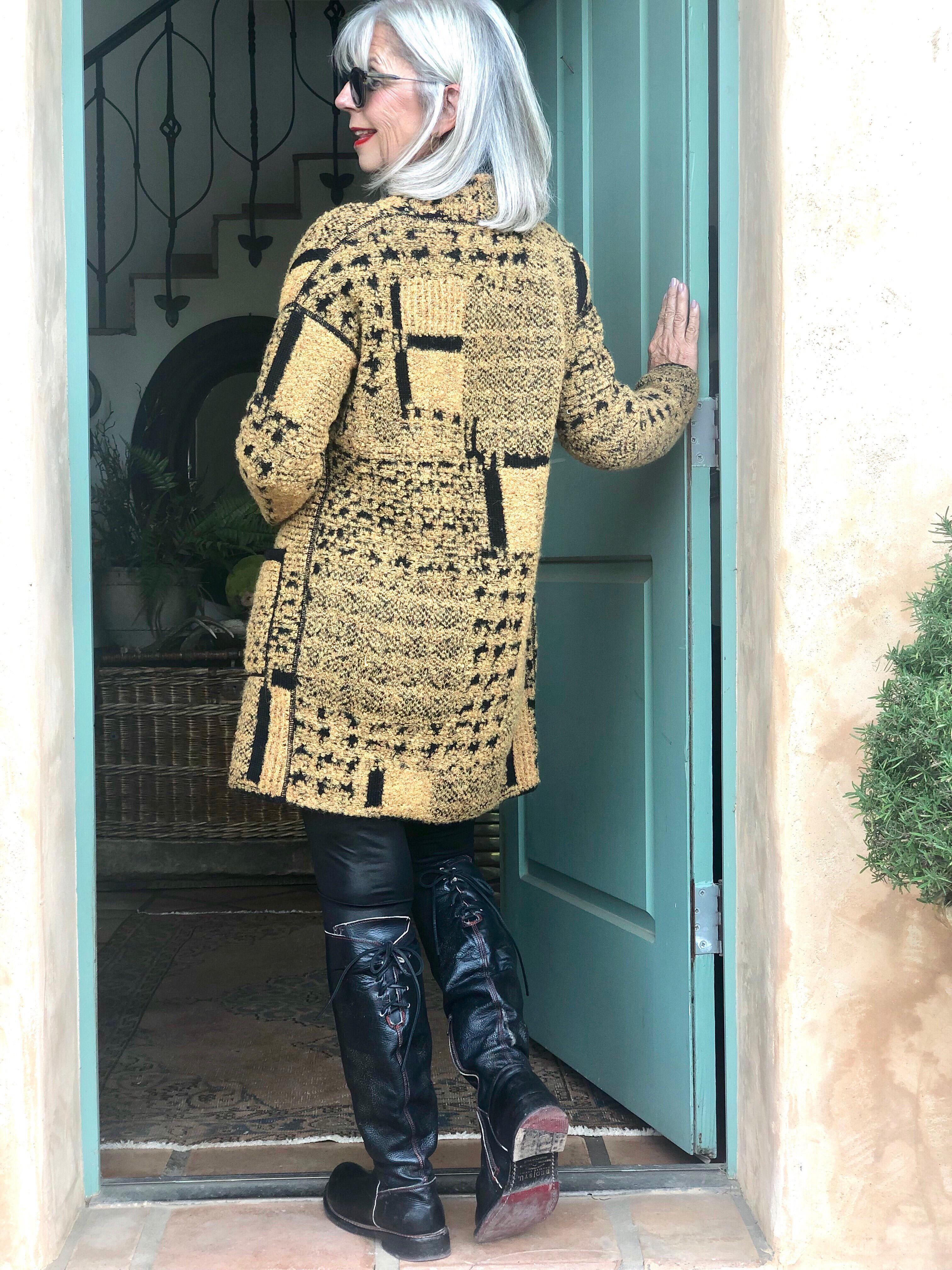 Fashion over 50-One Jacket Four Ways