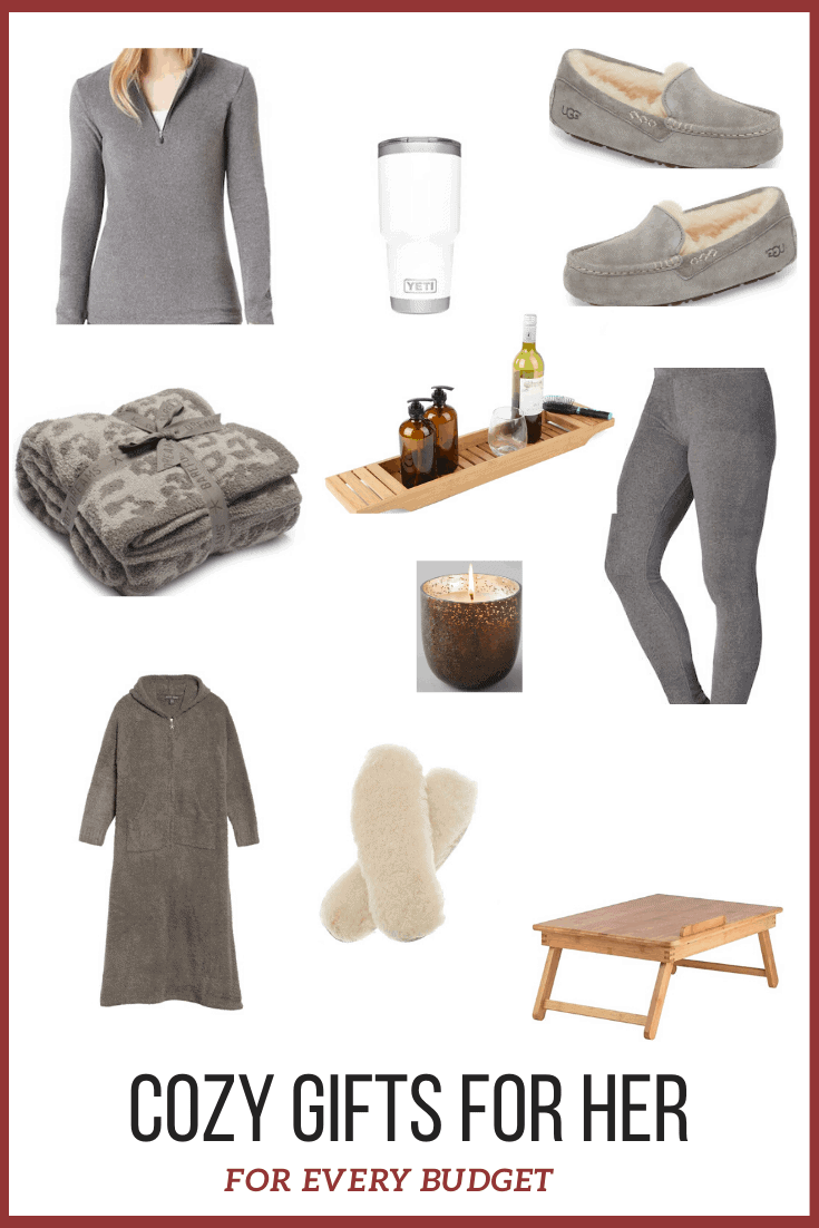 COZY GIFTS FOR HER FOR EVERY BUDGET