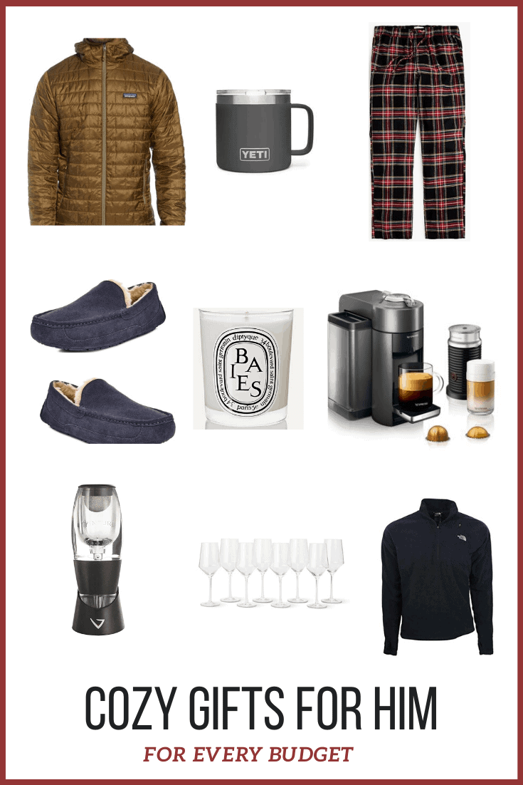 cozy gifts for him for every budget