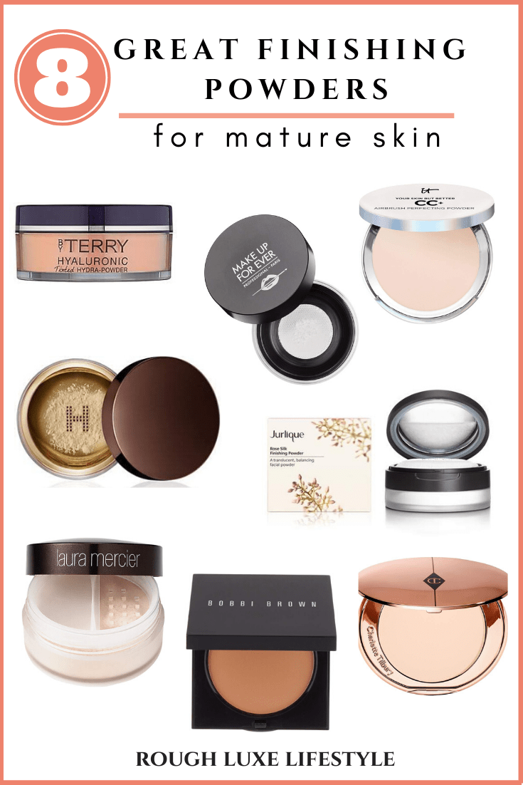 Eight Great Finishing Powders for Mature Skin