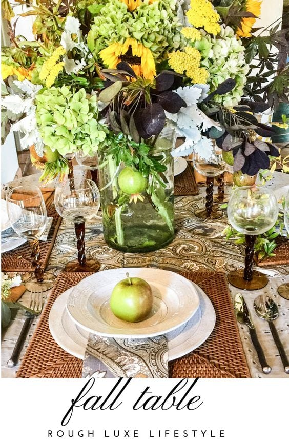 Ten Last Minute Fall Tablescapes you can Copy