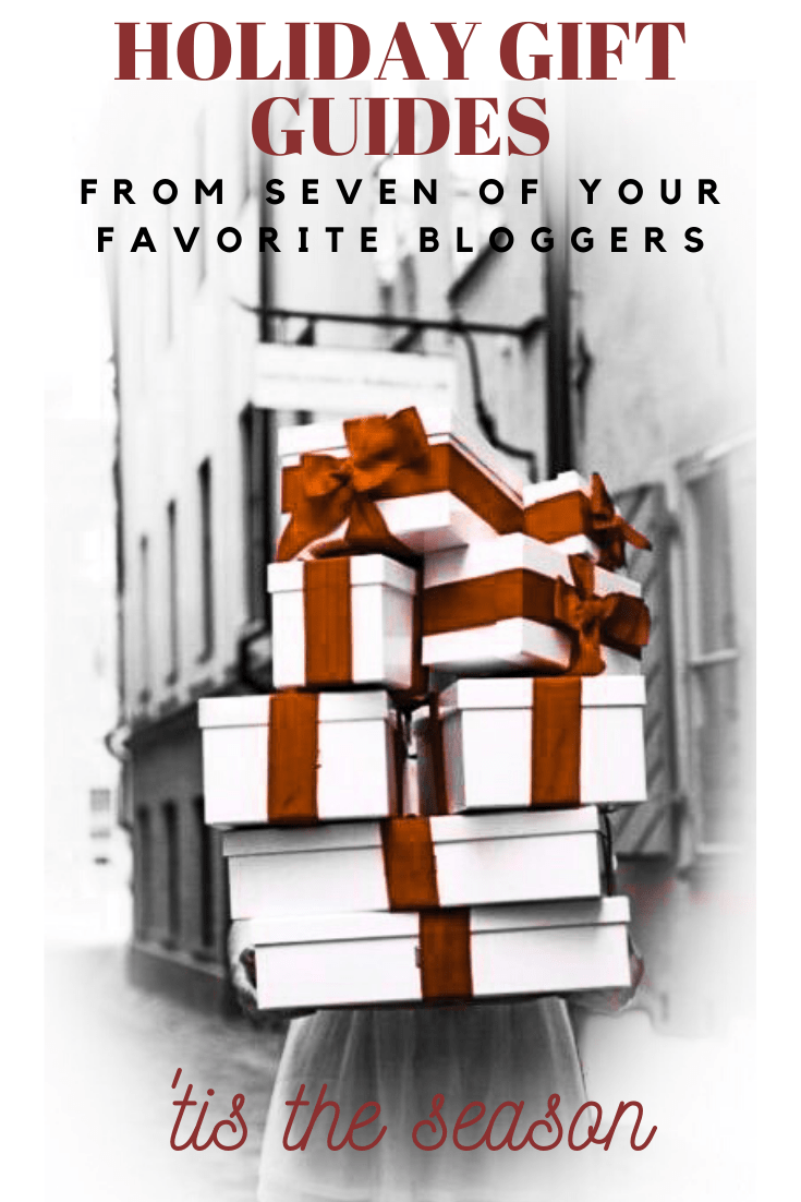 holiday gift guide from seven bloggers