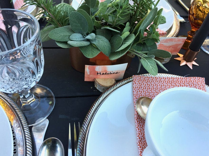 most lovely things fall tablescape