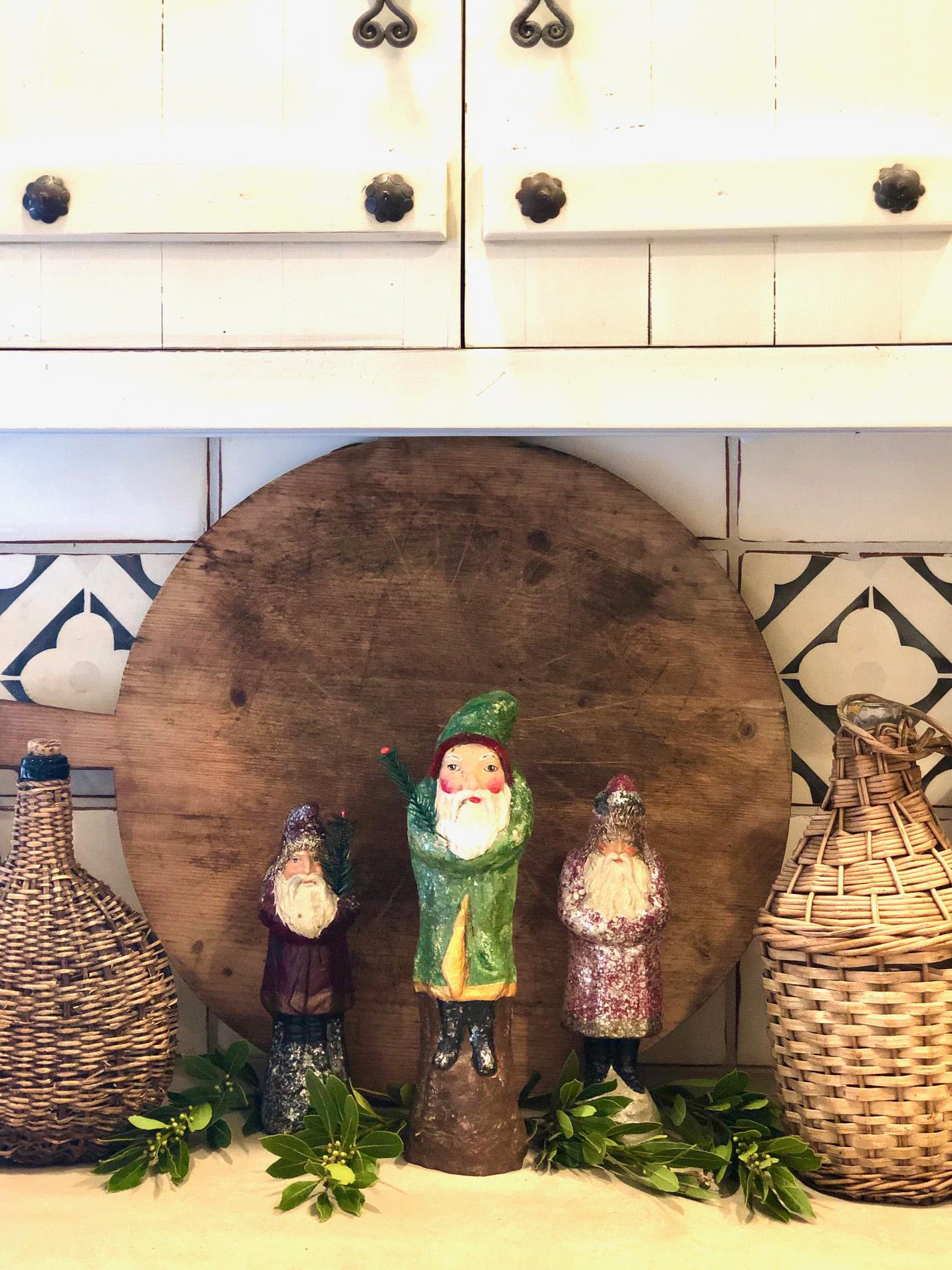 Belsnickels in Cindy Hattersley's kitchen