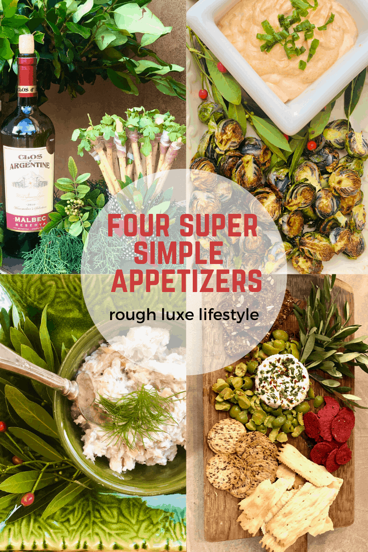 our super simple appetizers