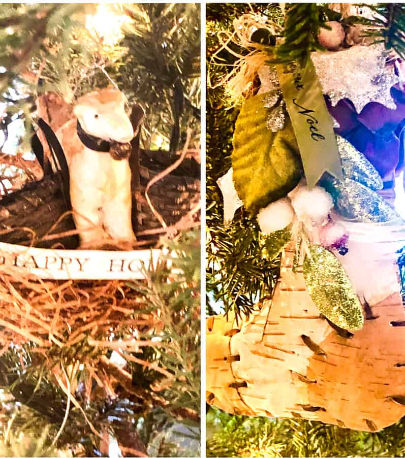 my christmas tree, simple gift wrap and downloadable tags