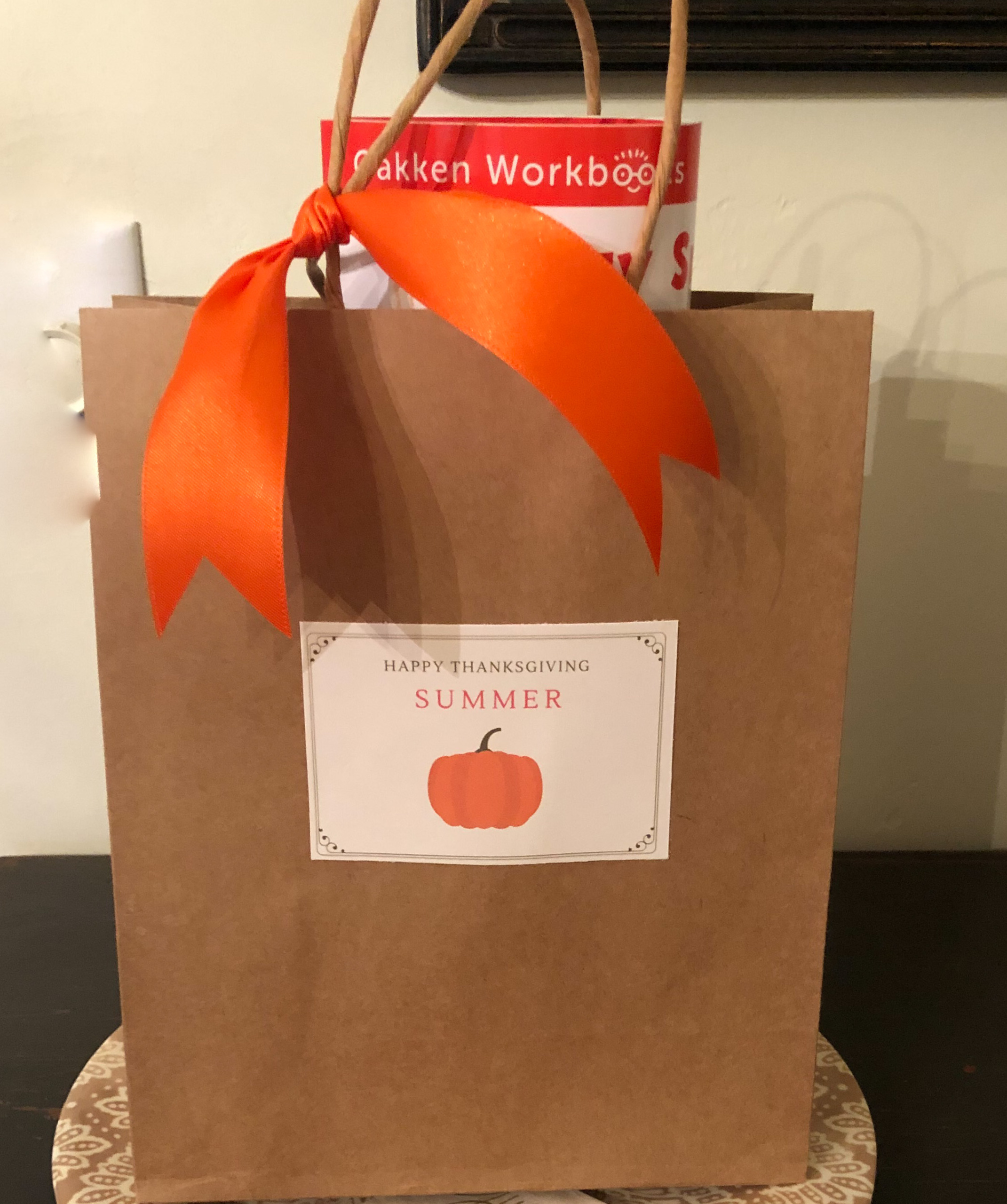 thanksgiving goodie bag