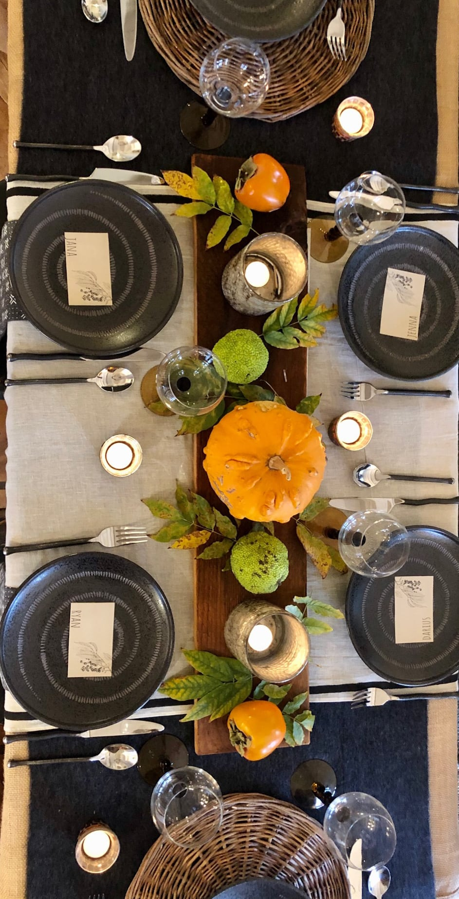 thanksgiving table cindy hattersley design