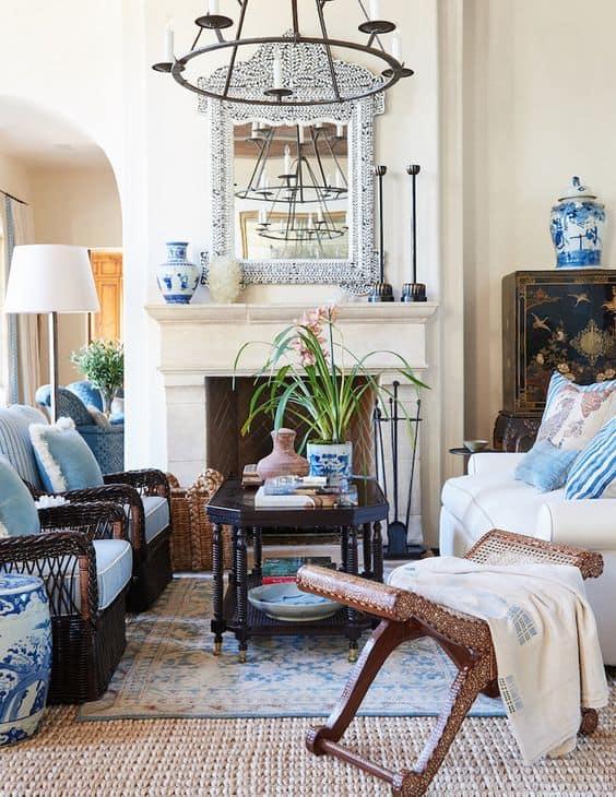 mark sikes designed living room