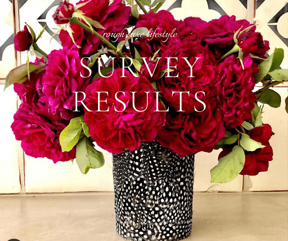 rough luxe survey results