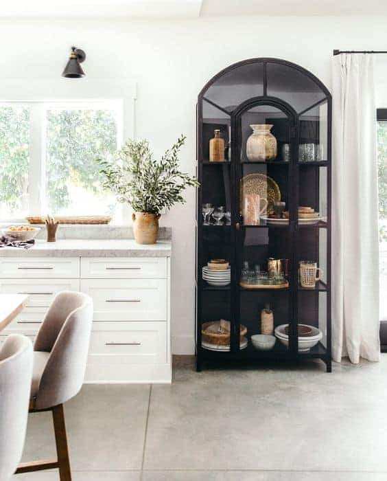 heather bullard how to style a display cabinet