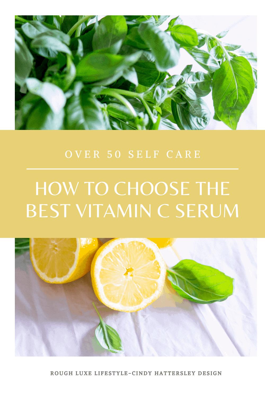 how to choose the best vitamin c serum