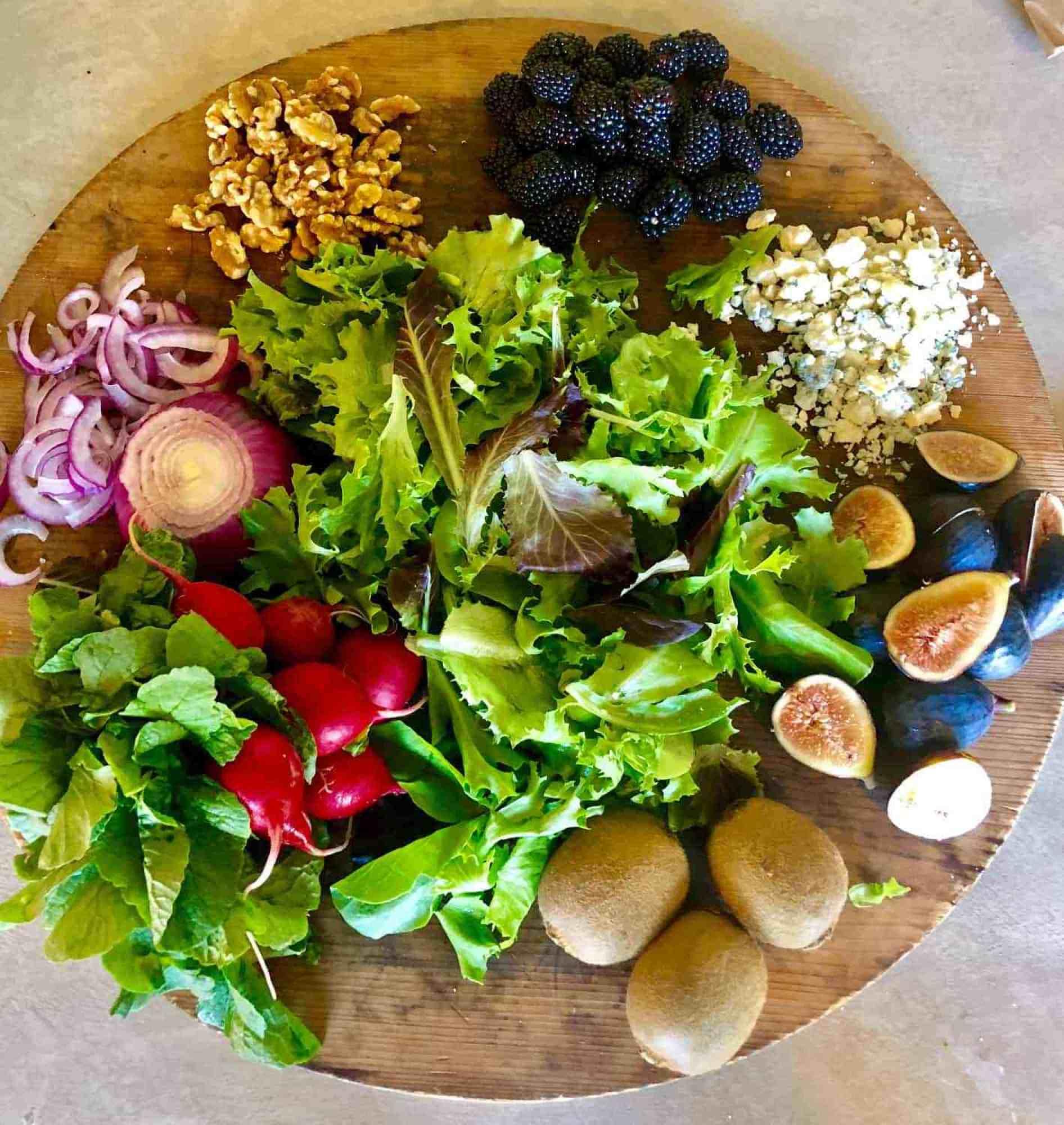 fresh salad ingredients cindy hattersley