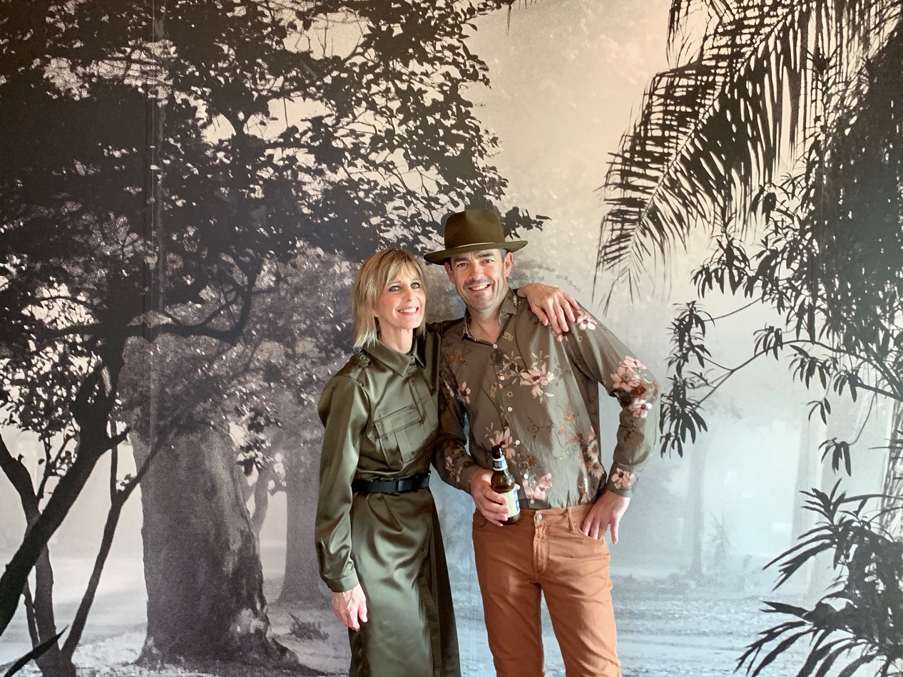 deb and graham milne for ageless style in NOLA