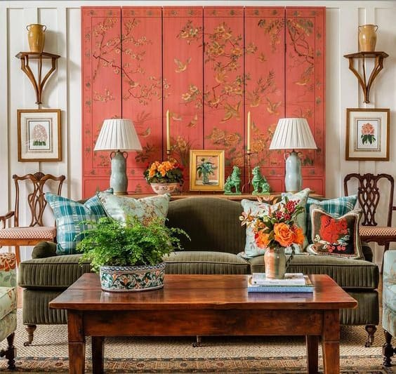 james farmer colorful living space