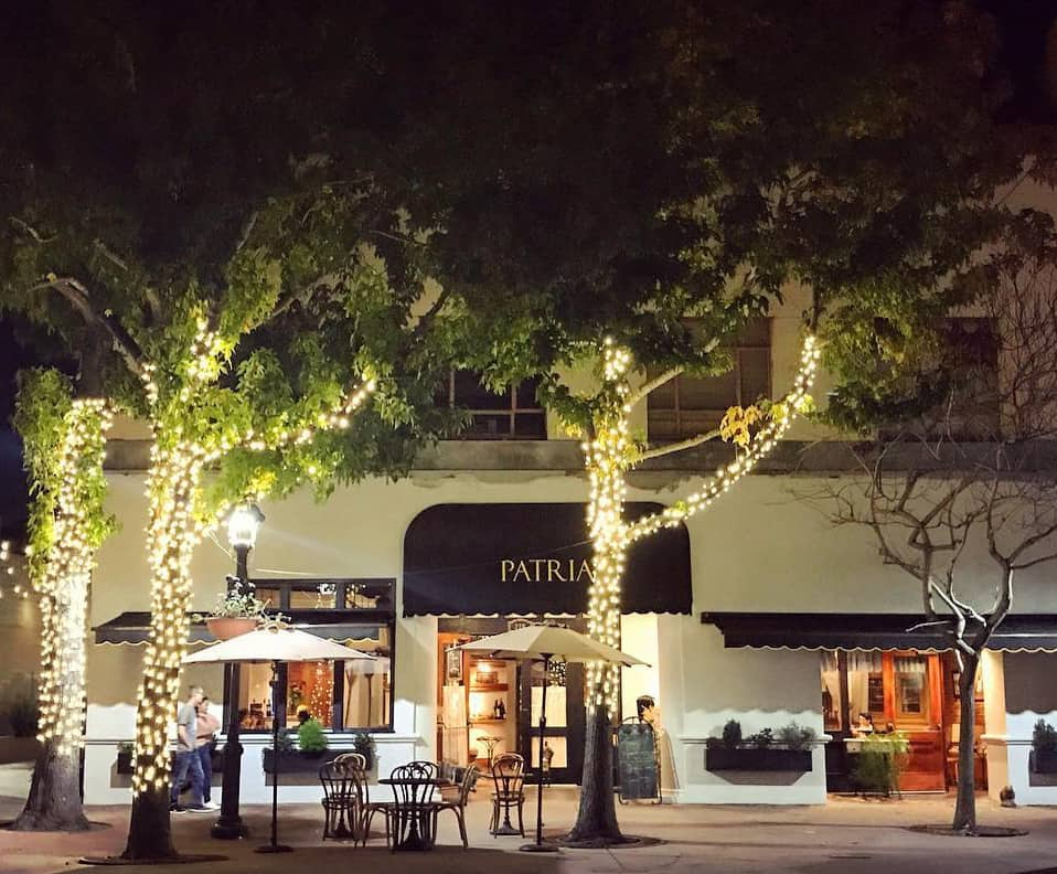 patria restaurant in Salinas