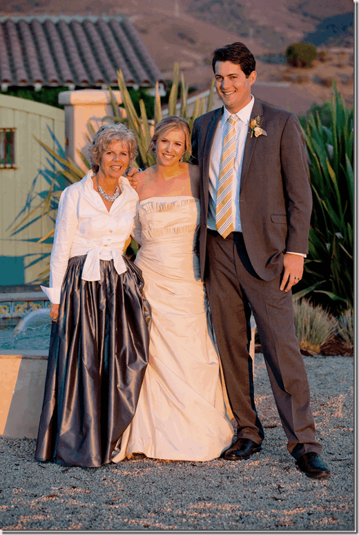 cindy hattersley at her daughter's wedding
