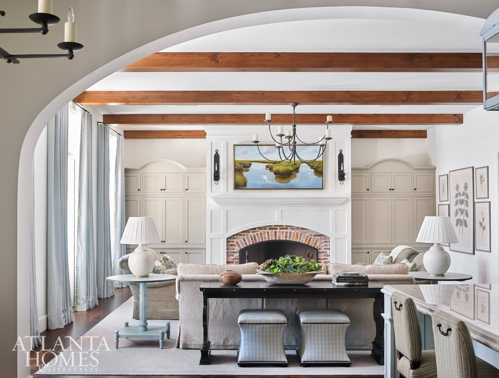 liz williams in Atlanta Homes and Lifestyles on Design Chic
