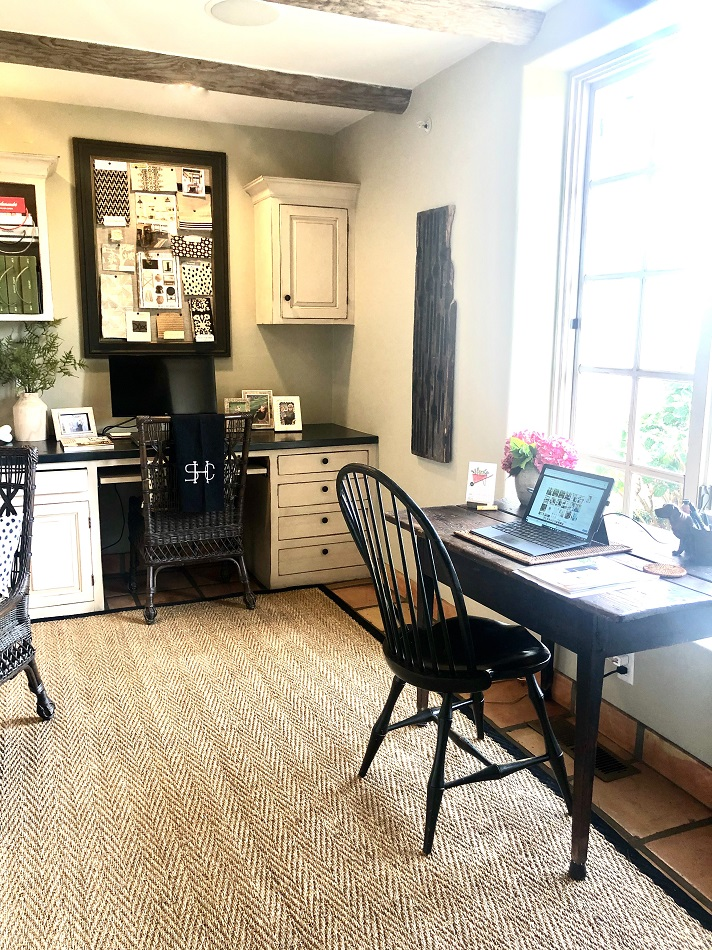 cindy hattersley design desk with view