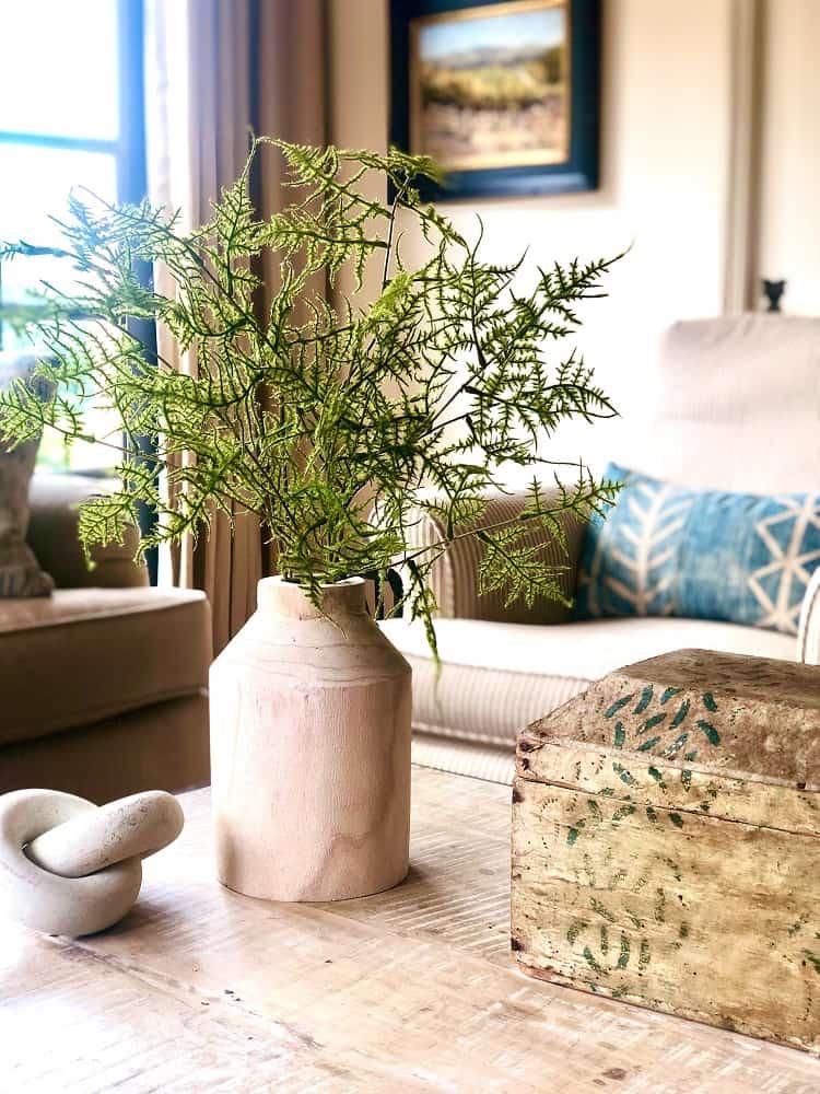 studio mcgee mango wood vase cindy hattersley design