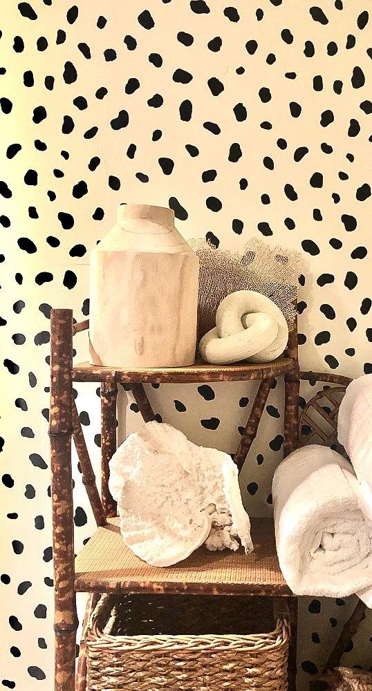 studio mcgee vase on bamboo etagere cindy hattersley design