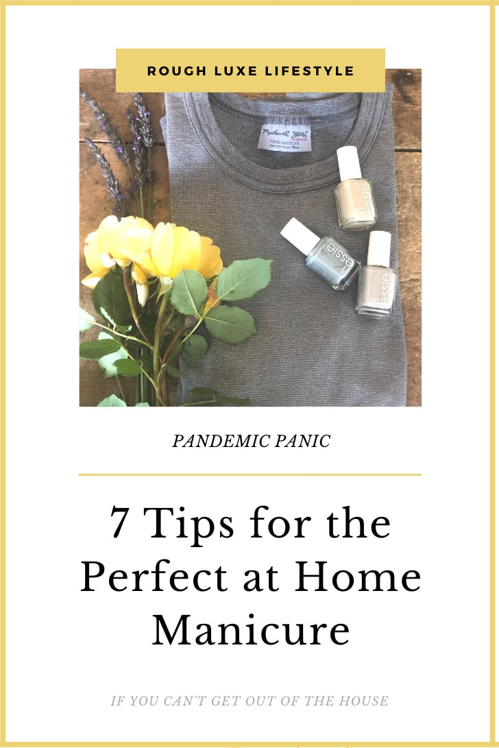 7 tips for the pefect at home manicure