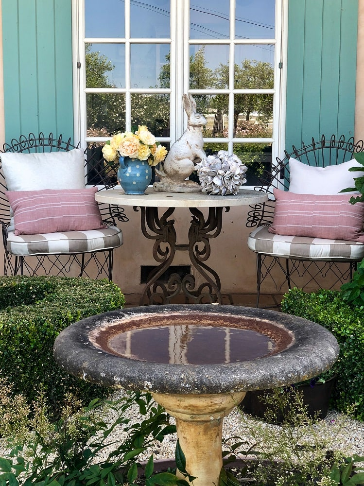 cindy hattersley front porch table and chairs with studio mcgee target pillows