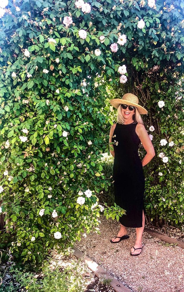 cindy hattersley in target dress rose arbor