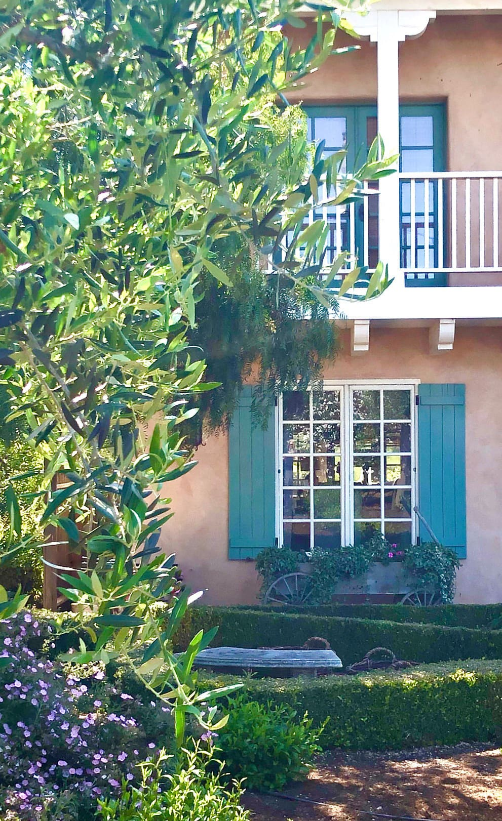 cindy hattersley's spanish colonial porch