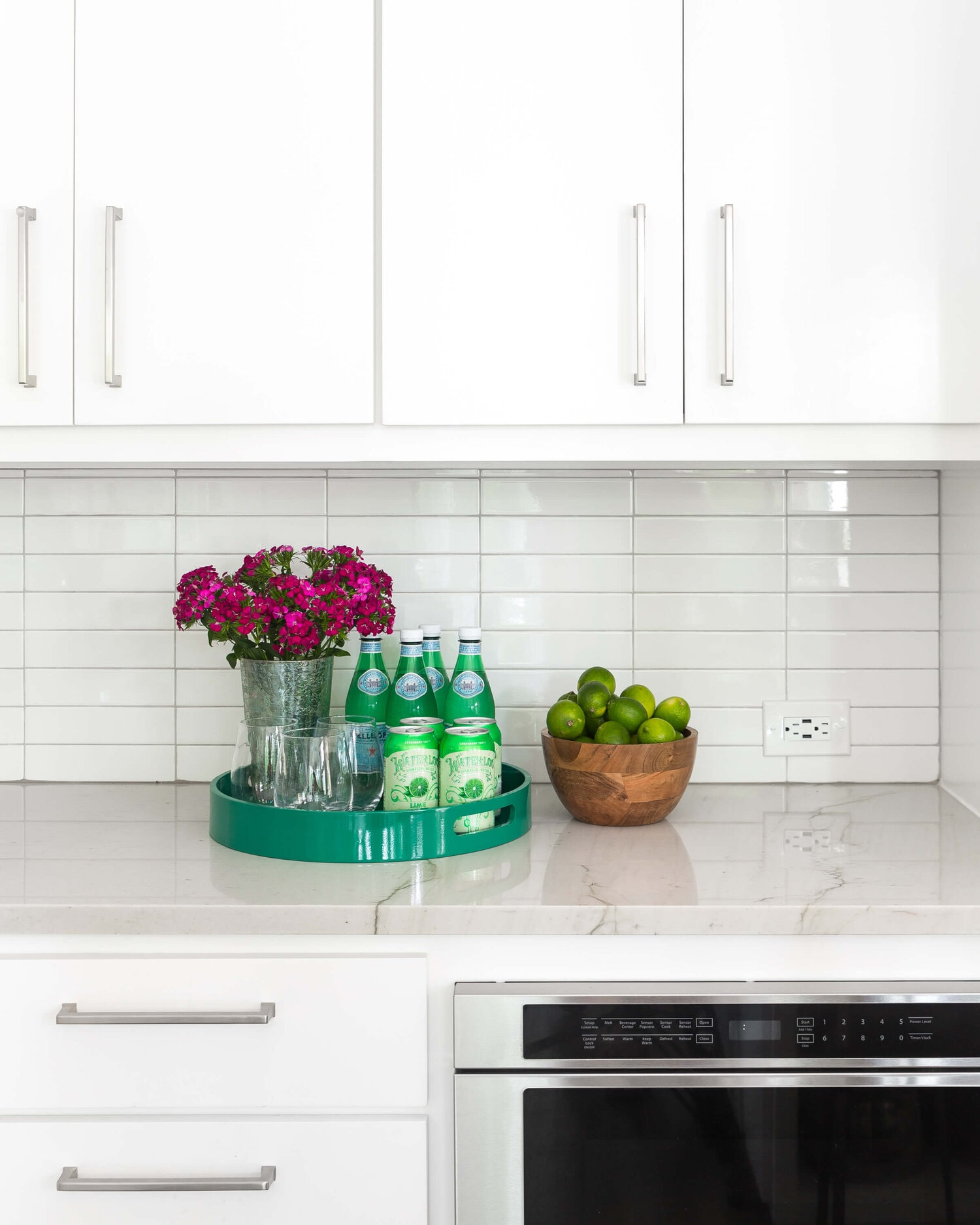 Carla Aston's helpful tips on How to deal with electrical outlets in backsplashes
