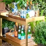 Stylish Bars and Bar Carts with a Collected Look