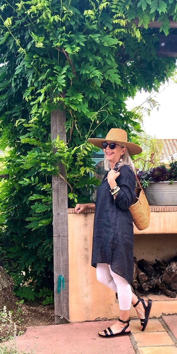 cindy hattersley in cp shades and peruvian connection hat