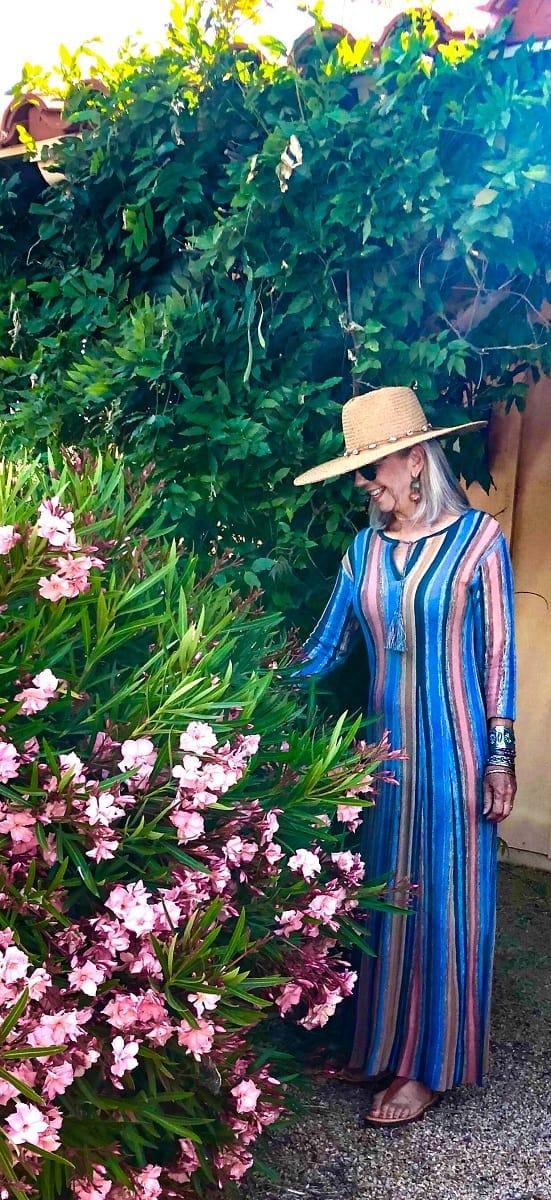 cindy hattersley in peruvian connection caravanseri dress