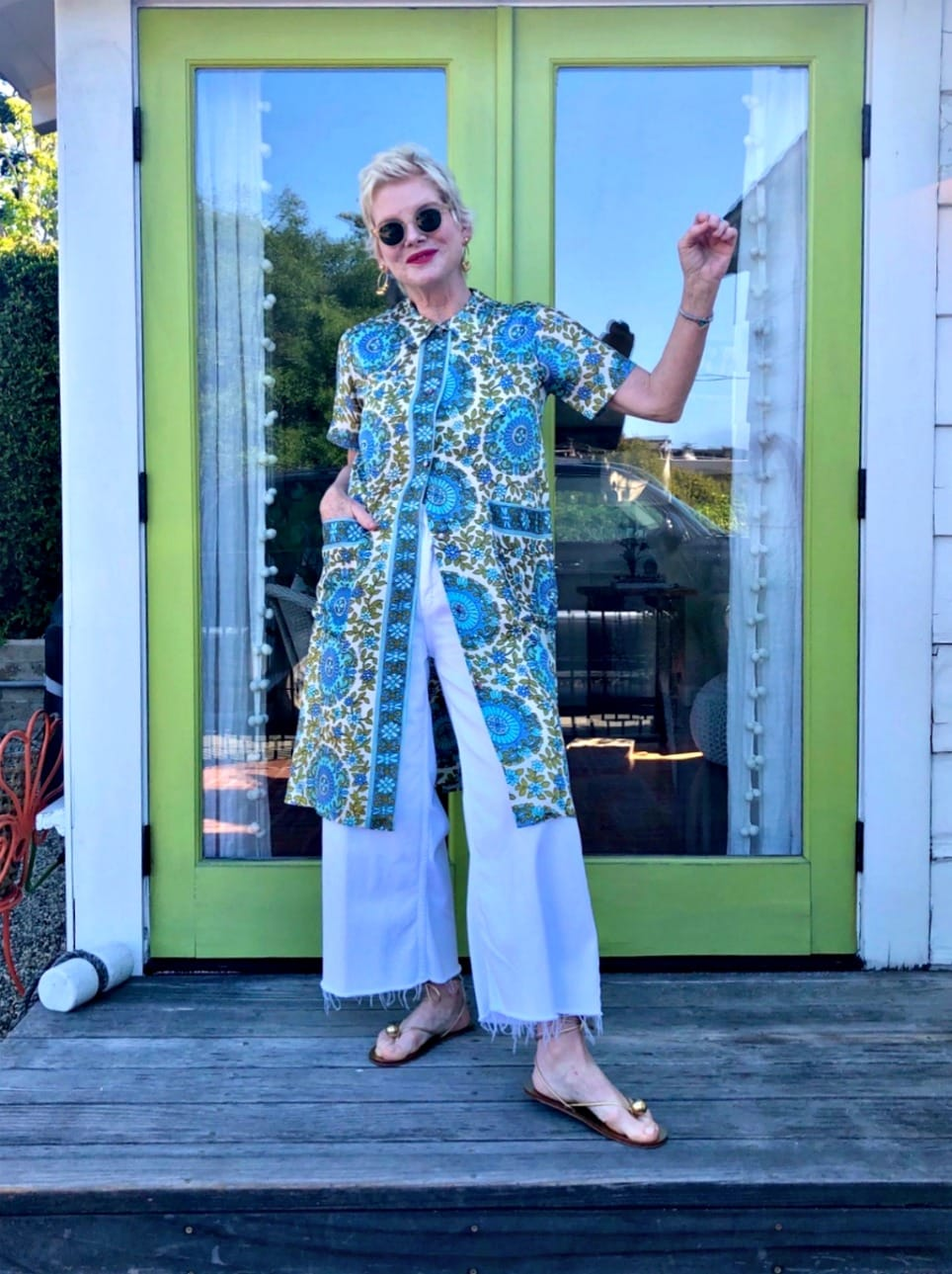 donna the cancer fashionista with a well styled life